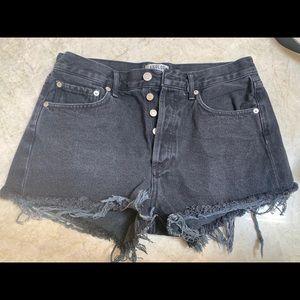 AGOLDE Parker Shorts Size 27 in Tidal